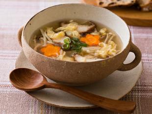 ぽかぽか きのこスープ イメージ